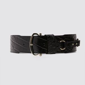 NWT Zara Leather Sash Belt